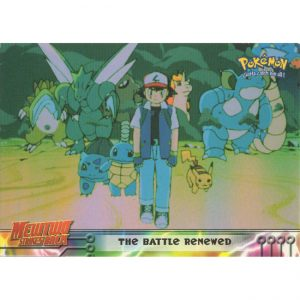 Topps Pokémon Series 1 – #32 The Battle Renewed