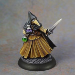 07024: DUNGEON DWELLERS: BROTHER LAZARUS, PLAGUE DOCTOR