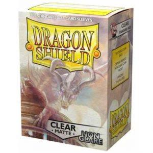 SLEEVES Dragon Shield – Matte – Clear – Non-Glare