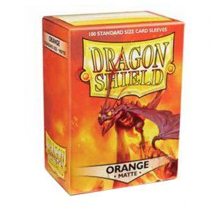 SLEEVES Dragon Shield – Matte – Orange