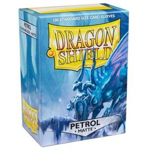 SLEEVES Dragon Shield – Matte – Petrol