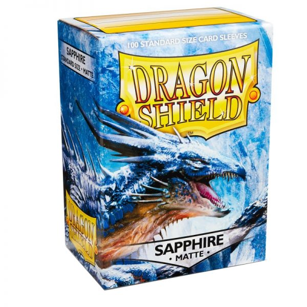 SLEEVES Dragon Shield – Matte – Sapphire