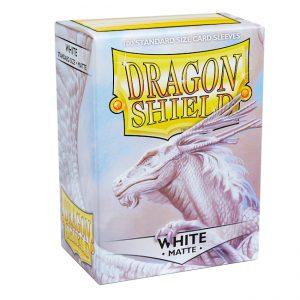 SLEEVES Dragon Shield – Matte – White