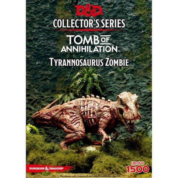 D&D Collectors Series Miniatures – Tomb of Annihilation – Tyrannosaurus Zombie
