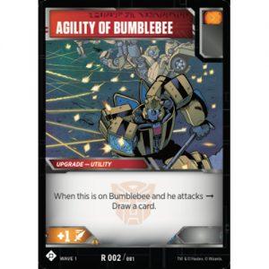 Agility of Bumblebee