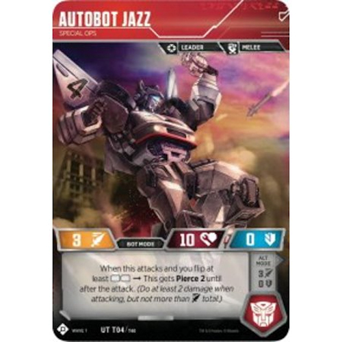 Autobot Jazz – Special Ops