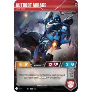 Autobot Mirage – Lone Wolf