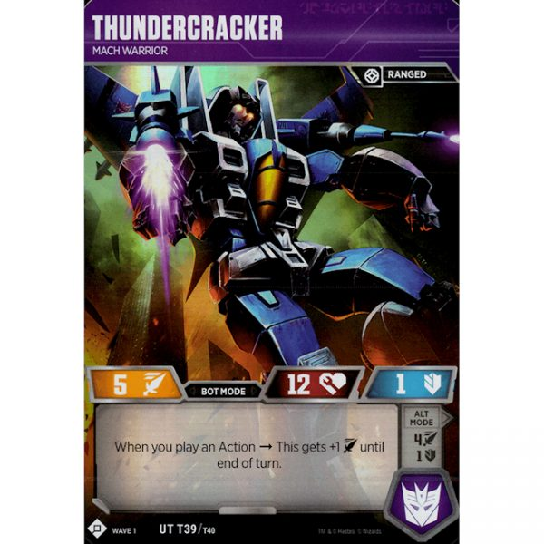 Thundercracker – Mach Warrior