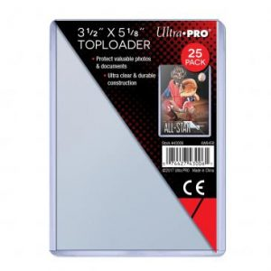 Ultra Pro – Oversized Toploaders (89mm x 127mm) – 25 Pcs