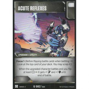 Acute Reflexes