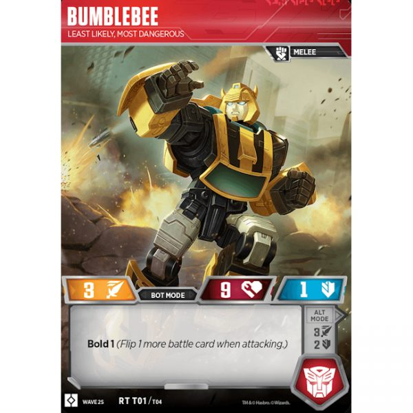 Bumblebee – Least Likely, Most Dangerous