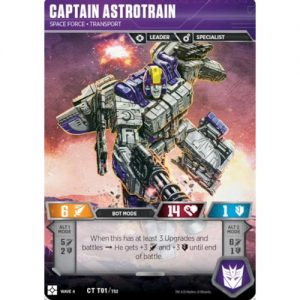 Captain Astrotrain – Space Force Transport