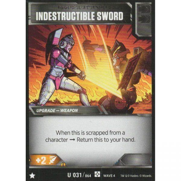 Indestructible Sword