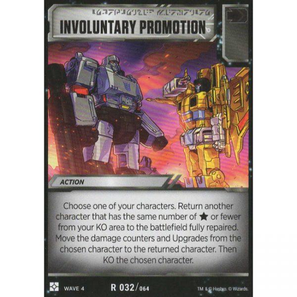 Involuntary Promotion