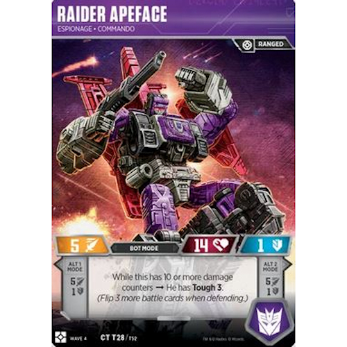Raider Apeface – Espionage Commando
