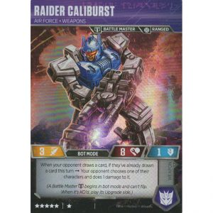 Raider Caliburst – Air Force Weapons