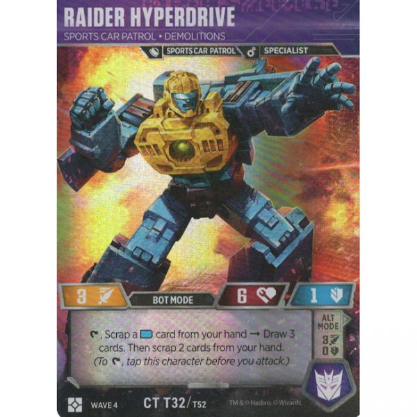 Raider Hyperdrive – Sports Car Patrol Demolitions