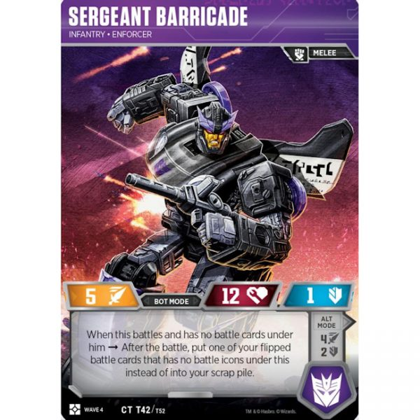 Sergeant Barricade – Infantry Enforcer