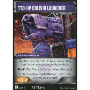 TTC-HP Oblivio Launcher (Raider Brunt Upgrade)