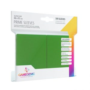 GameGenic Prime Sleeves – Green