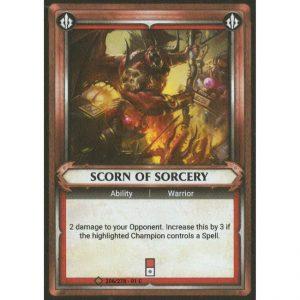 Scorn of Sorcery (Unclaimed)