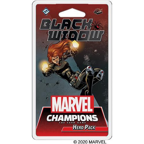 Marvel Champions LCG – Black Widow – Hero Pack