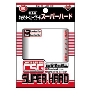 KMC – Character Sleeve Guard – Super Hard – 69x94mm