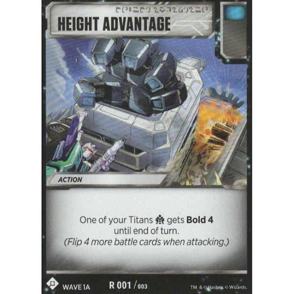 Height Advantage
