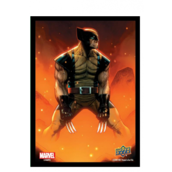 Marvel Card Sleeves – Wolverine (65 Sleeves)