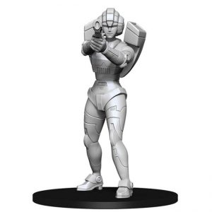 Transformers – Deep Cuts – Unpainted Miniatures – Arcee