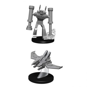 Transformers – Deep Cuts – Unpainted Miniatures – Laserbeak and Frenzy