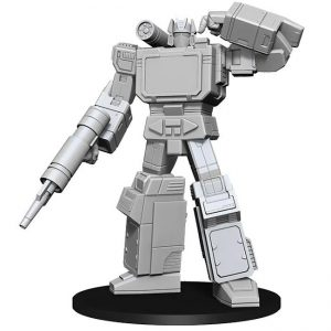 Transformers – Deep Cuts – Unpainted Miniatures – Soundwave