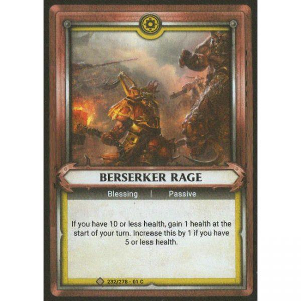 Berserker Rage (Unclaimed)