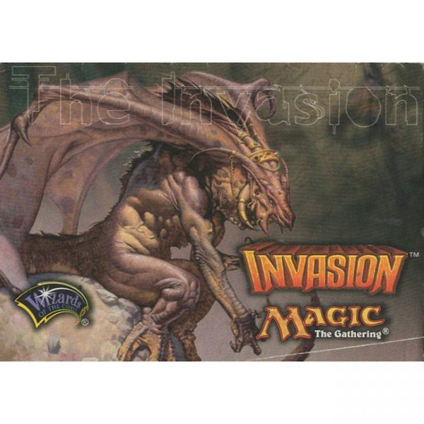Invasion – Dismissal Deck – Strategy Insert