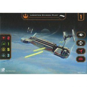 Logistics Division Pilot – X-Wing Promo card FFG