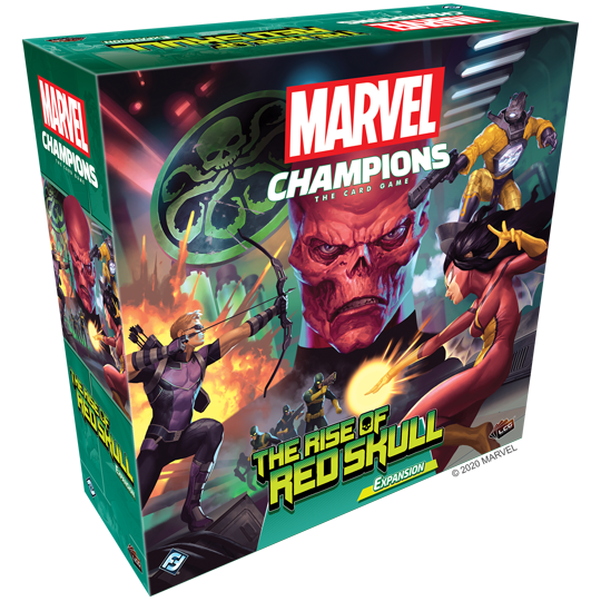Marvel Champions LCG – The Rise of the Red Skull