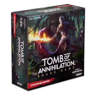 D&D Tomb of Annihilation – Adventure System Board Game
