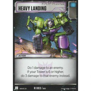 Heavy Landing