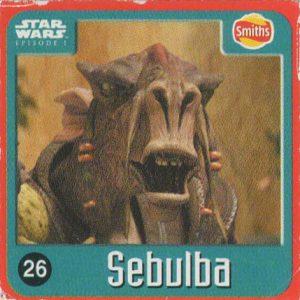 Smiths Punten – #26 – Sebulba