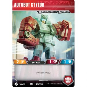 Autobot Stylor