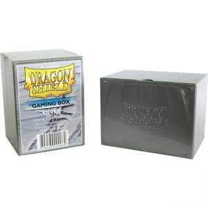 Deckbox – Dragon Shield – Silver