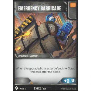 Emergency Barricade