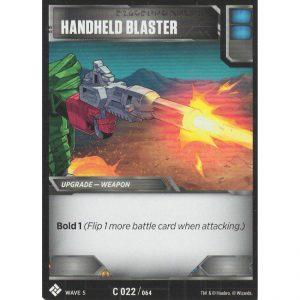 Handheld Blaster – Wave 5