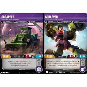 Scrapper – Construction Foreman