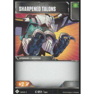 Sharpened Talons