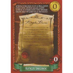 Sheriff of Nottingham: King's Decree – Promo Card