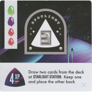Space Park: Spotlight – The Board Gamer's Guide to the Galaxy – Promo Card