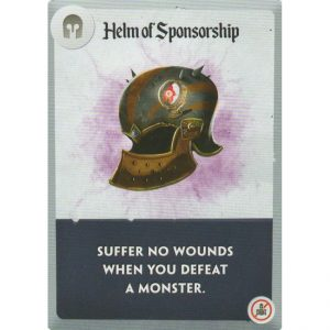 Spell Smashers: Helm of Sponsorship – Promo Card
