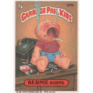 Garbage Pail Kids – BERNIE Burns