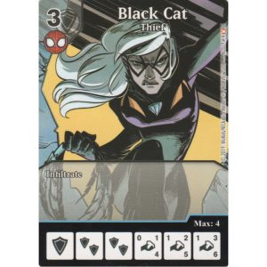 Black Cat – Thief – Marvel Dice Masters – Full Art